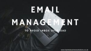 Email Management: Avoid Inbox Overload