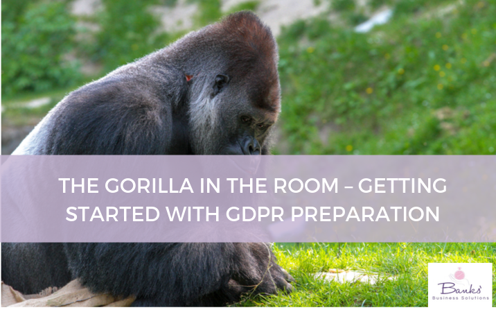 The Gorilla in the Room – Getting Started with GDPR Preparation