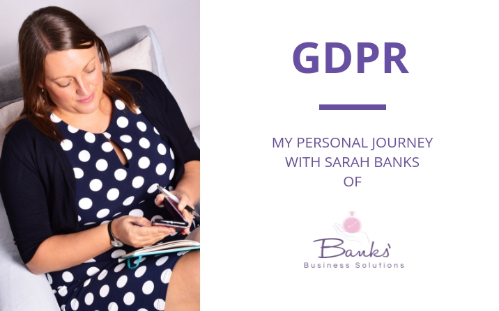My journey to prepare for GDPR