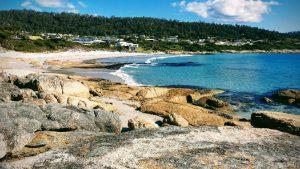 Photograph of a beach