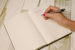 Notebook to write your 5 year plan