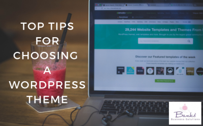 Top Tips for Choosing a WordPress Theme