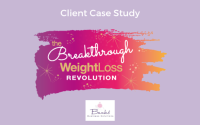 The Breakthrough WeightLoss Revolution: Content Marketing Support