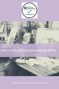 Why I'm Proud to be Accredited by VIPVA