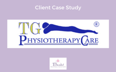 TG Physiotherapy Care: Set up of Acuity Online booking system