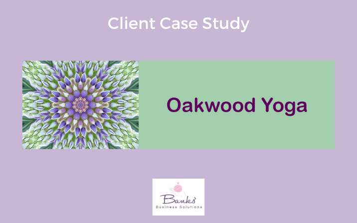 Oakwood Yoga: Website and Email Marketing Support