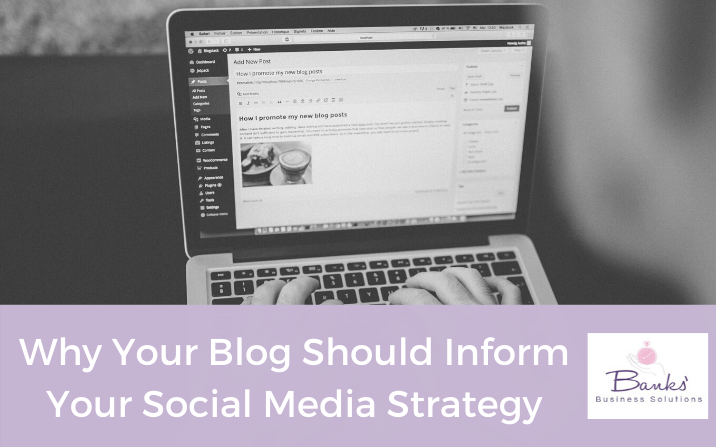 How I Use Blogging To Inform My Social Media Strategy