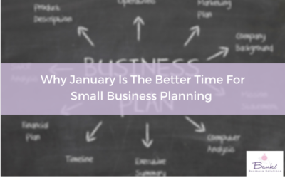 Why I leave my business planning until January