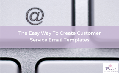 The Easy Way To Create Customer Service Email Templates