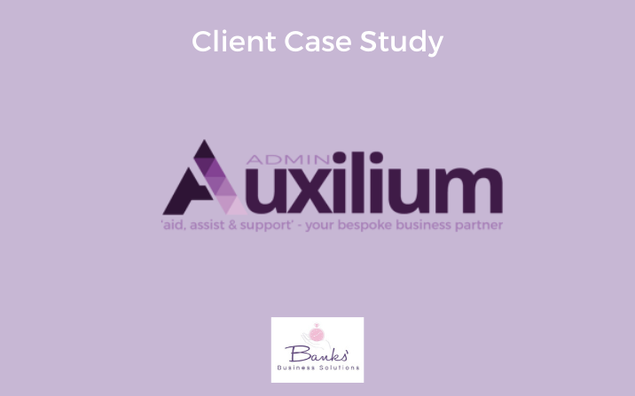 Auxilium Admin: Website Support