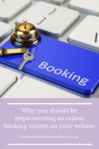 Why you should be implementing an online booking system on your website