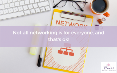 Not All Networking Is For Everyone, And That's Ok!