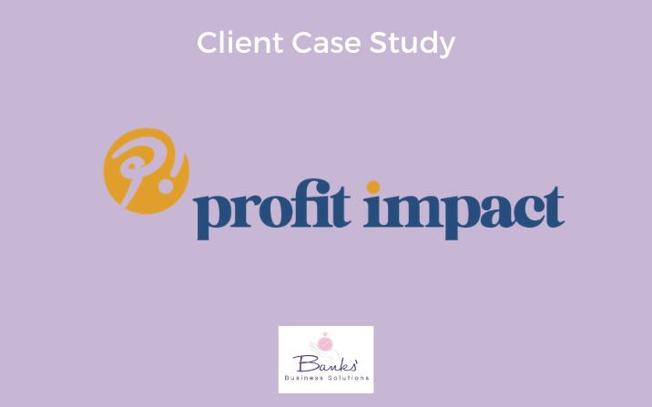 Profit Impact: New Business Online Set-Up