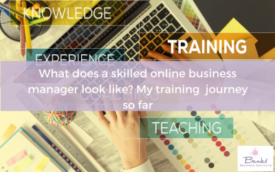 What Does A Skilled Online Business Manager Look Like? My Training  Journey So Far
