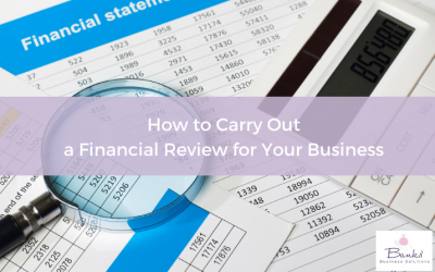 How to Carry Out a Financial Review for Your Business
