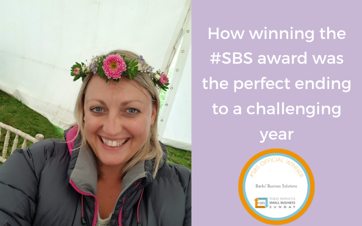 How winning the #SBS award was the perfect ending to a challenging year