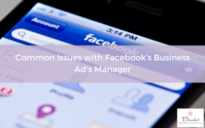 Common Issues with Facebook's Business Ad's Manager
