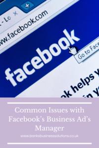 Screenshot of Facebook open in a web browser